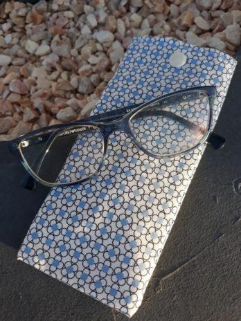 Pochette range lunettes