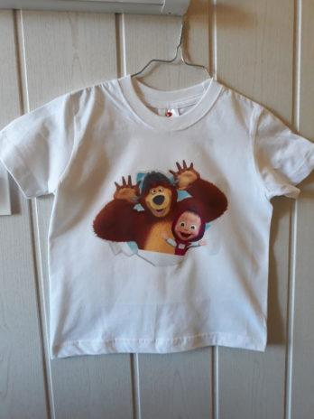 Tee-shirt MC enfant (flocage)