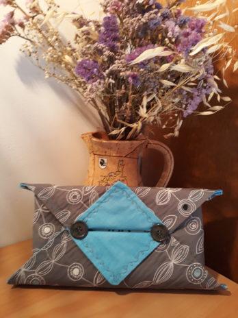 Etui origami pour boite à mouchoirs