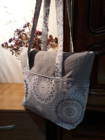 Grand sac à lanière (petite pochette intérieure)